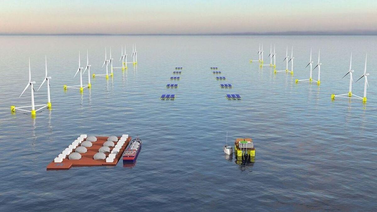 Symbioza pływającej fotowoltaiki i offshore wind zapewni większe wykorzystanie potencjału OZE